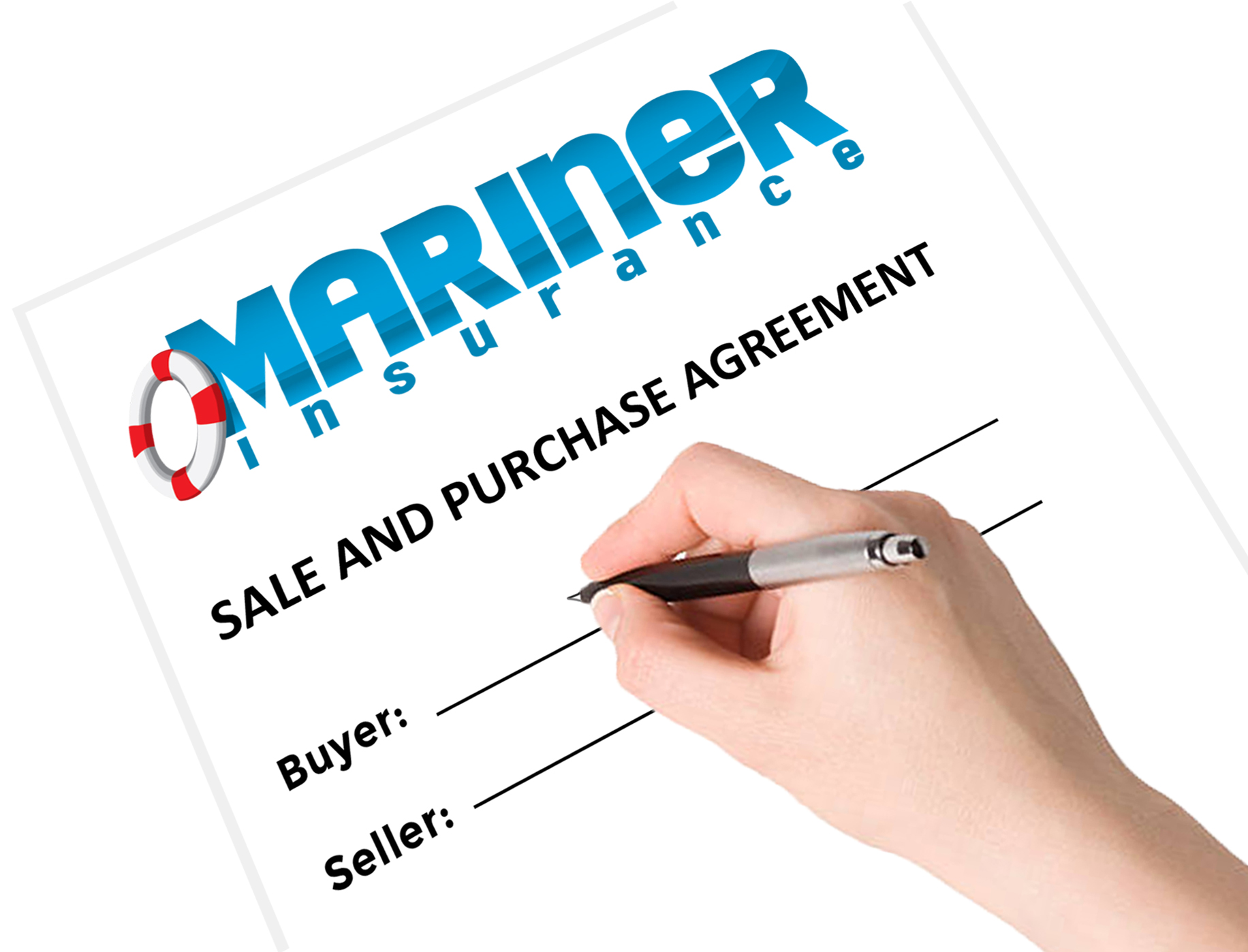 Buying A Boat With A Sale And Purchase Agreement